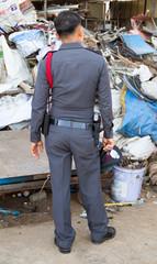 Police carry guns