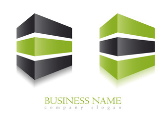Business logo building design