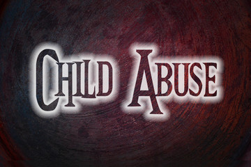 Child Abuse Concept
