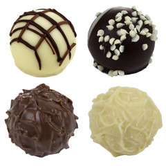 Four Chocolate candies