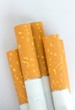 canvas print picture - Zigaretten - Filter - Nahaufnahme