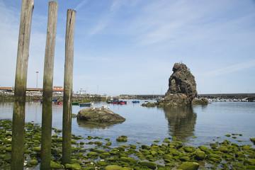 Fishing port of Cudillero