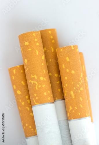 canvas print picture Zigaretten - Filter - Nahaufnahme
