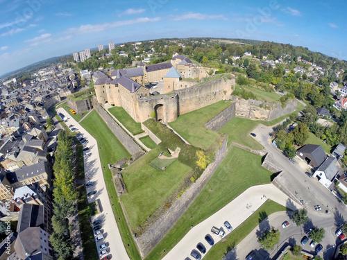 Papiers peints Chateau Aerial view on Castle of Sedan