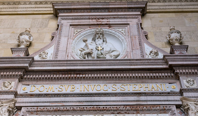 Sculpture of St. Stephen, St. Stephen Basilica, Budapest