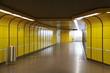 Leinwanddruck Bild - U-Bahn Station Bonn