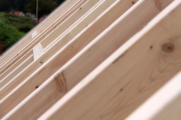 Holzbau Dachstuhl