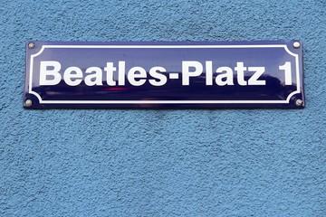 Hamburg Beatles Square