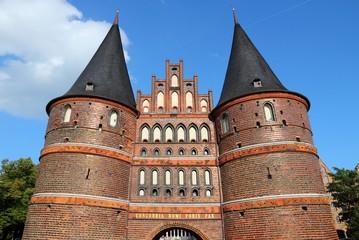 Lubeck, Germany - Holstentor city gate