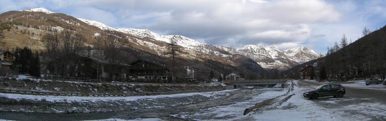 Winter in Pragelato