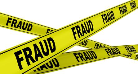 Мошенничество (fraud). Желтая оградительная лента