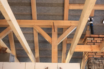 Detail of the roof structure