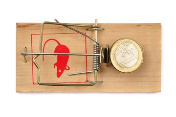 Euro in trap