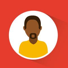 man avatar design