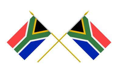Flags, South Africa