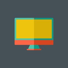 Computer Flat Icon