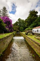Moinho de água nos Açores