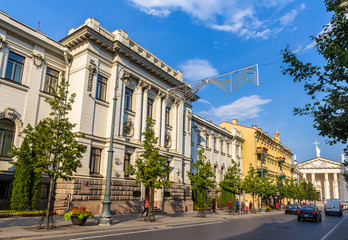 Lithuanian Academy of Sciences in Vilnius