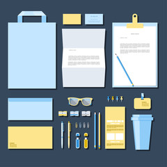 Corporate identity mock-up business 1