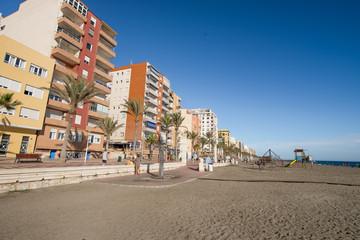 Paseo marìtimo de Almería,Andalucía,España