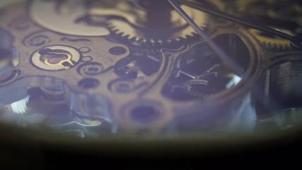 Mechanical Watch, close up