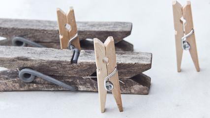 Tweezers and clothespins