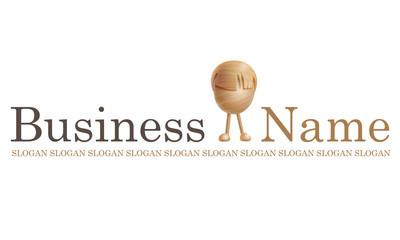 Logo jouet en bois