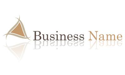 Logo triangle bois