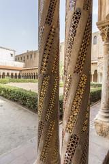 Chiostro del Duomo di Monreale - Palermo, Sicilia