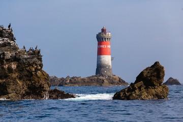 Lightouse in full sea
