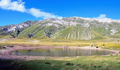 mountains of laga, gran sasso, Abruzzo, Italy