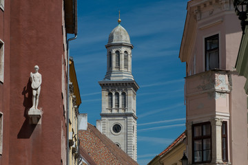 Bell tower in Sopron
