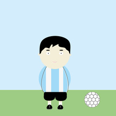 Argentina soccer player