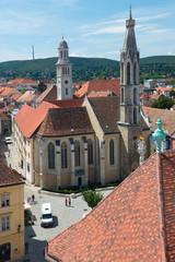 The goat church of Sopron
