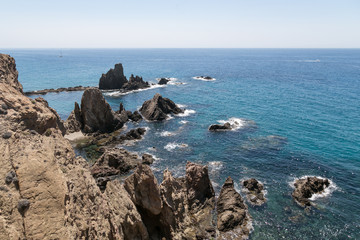 Coast of Cabo de Gata, Almería, Spain