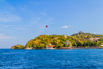 Anadolu Kavagi with Yoros Castle