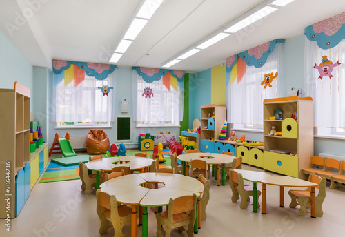 games room in the kindergarten - 70644236