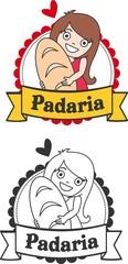 Logo padaria