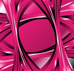A pink abstract wave background