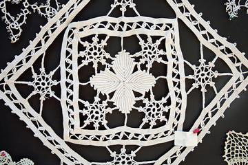 Lace. Folk craft