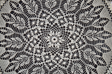 Lace. Folk craft