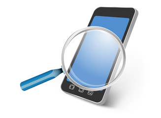 All smartphone device searching