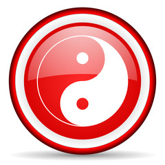 ying yang web icon