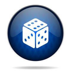 play internet blue icon