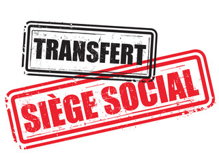 tampons transfert de siège social