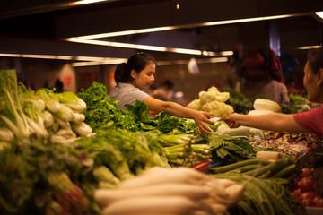 markt in china
