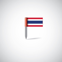 thailand flag pin.