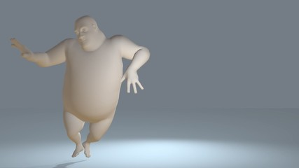 Digital Animation of a dancing Toon