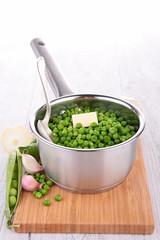 casserole with pea