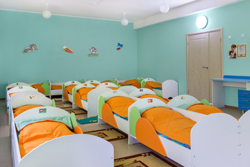 bedroom in kindergarten